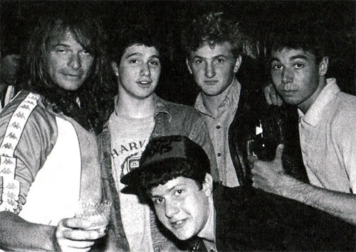 David Lee Roth The Beastie Boys Sean Penn