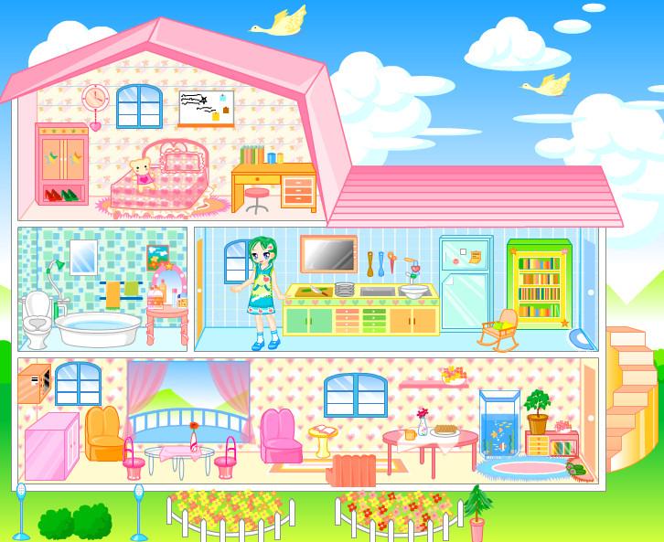 Decoracion casa Barbie