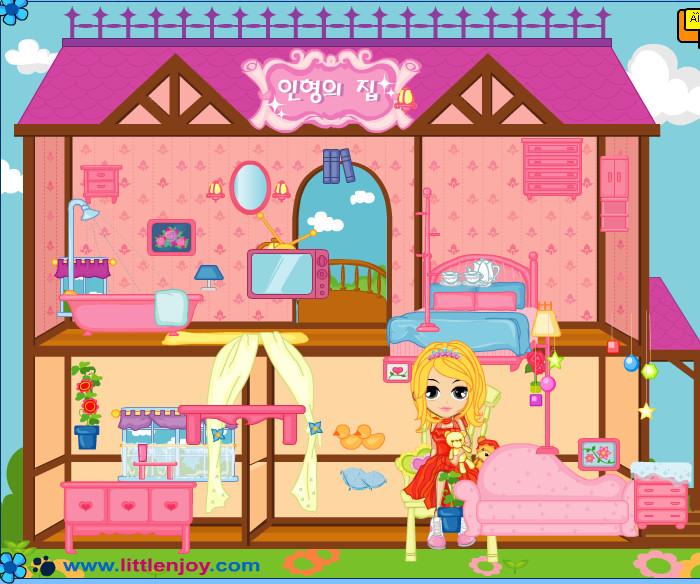 Decoraci n de la casa de barbie juegos - Juegos de decorar la casa de barbie con piscina ...