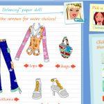 Diseñadora de ropa para Barbie