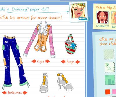 Disenadora ropa Barbie