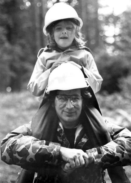 Drew Barrymore Steven Spielberg