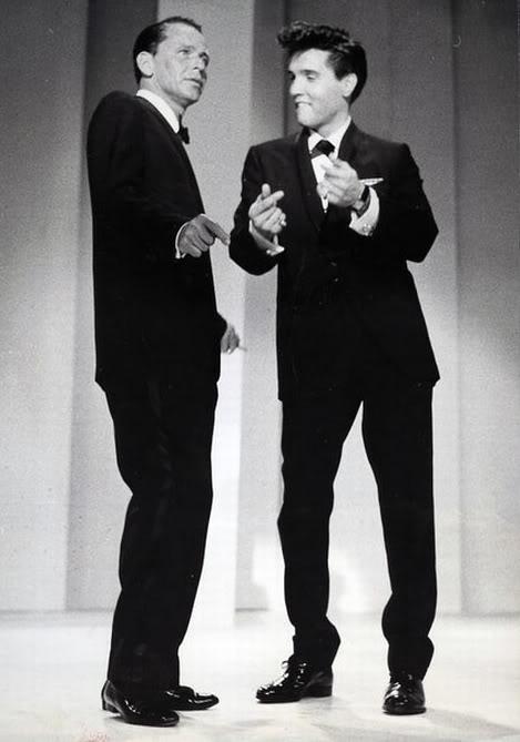 Frank Sinatra Elvis Presley