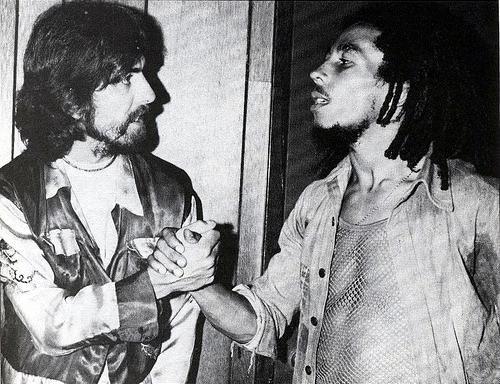 George Martin Bob Marley
