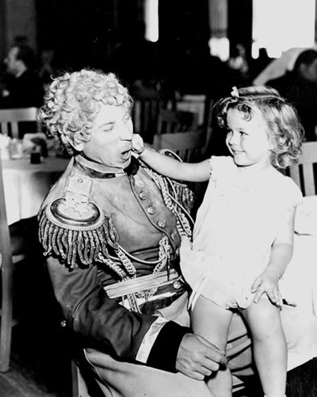 Harpo Marx Shirley Temple