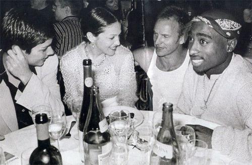 Ingrid Casares Madonna Sting Tupac Shakur
