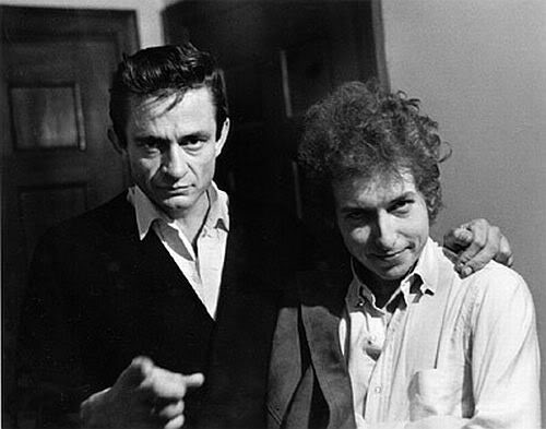 Johnny Cash Bob Dylan