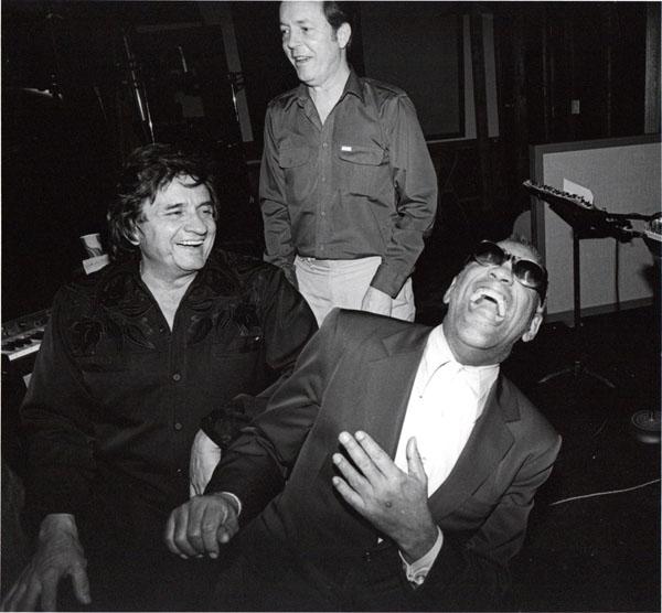 Johnny Cash Ray Charles