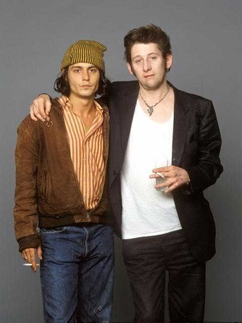 Johnny Depp Shane MacGowan
