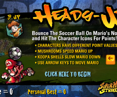 Juego Mario futbol Strikers