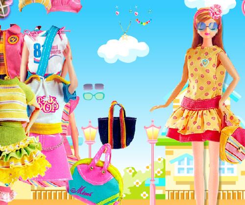 Juego arreglar Barbie Mimi