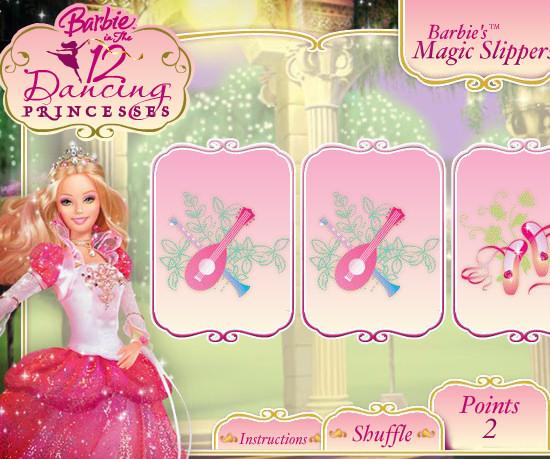 Juego atencion Barbie Bailarina