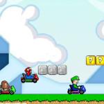 Juego de carros con Mario