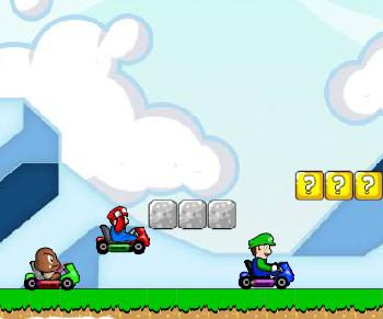 Juego carros Mario