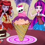 Juego hacer helados Monster High