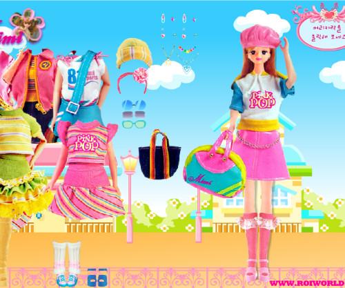 Juego moda Barbie Mimi