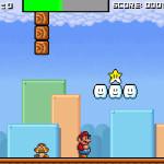 Juego de saltar con Mario