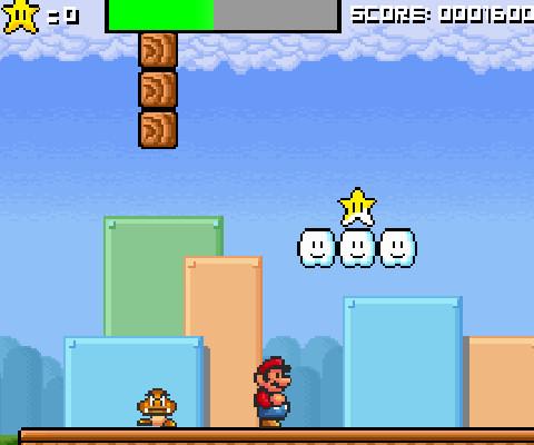Juego saltar Mario
