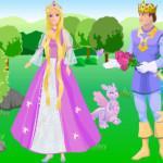 Juego de vestir a Barbie Rapunzel