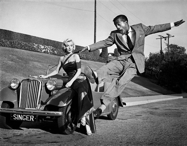 Marilyn Monroe Sammy Davis Jr
