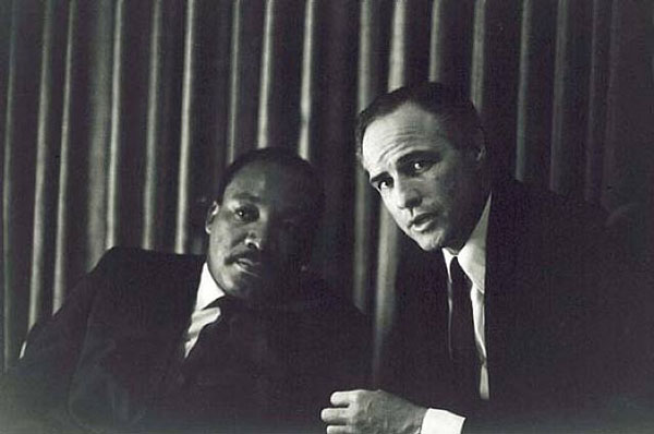 Martin Luther King Jr Marlon Brando El Padrino