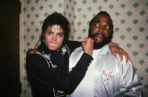Michael Jackson Mr. T