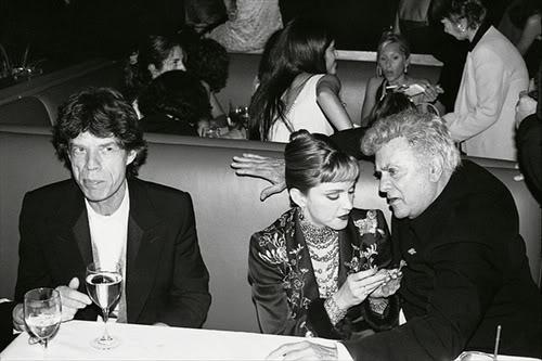 Mick Jagger Madonna Tony Curtis