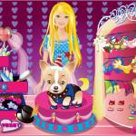 Moda de cumpleaños para el perro de Barbie