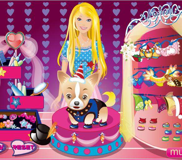Moda cumpleanos perro Barbie