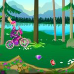 Rally de conducir bicis con Barbie