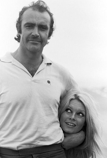 Sean Connery Brigitte Bardot