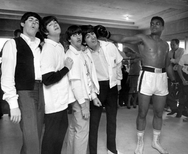 The Beatles Muhammad Ali 1964