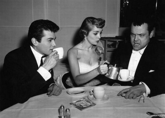 Tony Curtis Janet Leigh orson Welles
