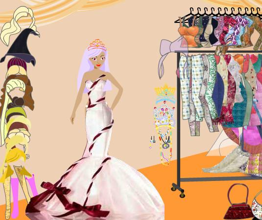 Vestidos moda fiesta Barbie