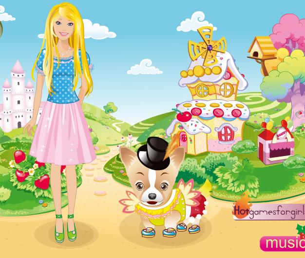 Vestir perrito Barbie