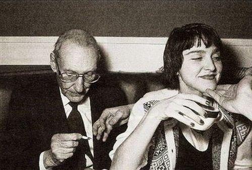 William Burroughs Madonna