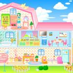 La casita de muñecas de Barbie