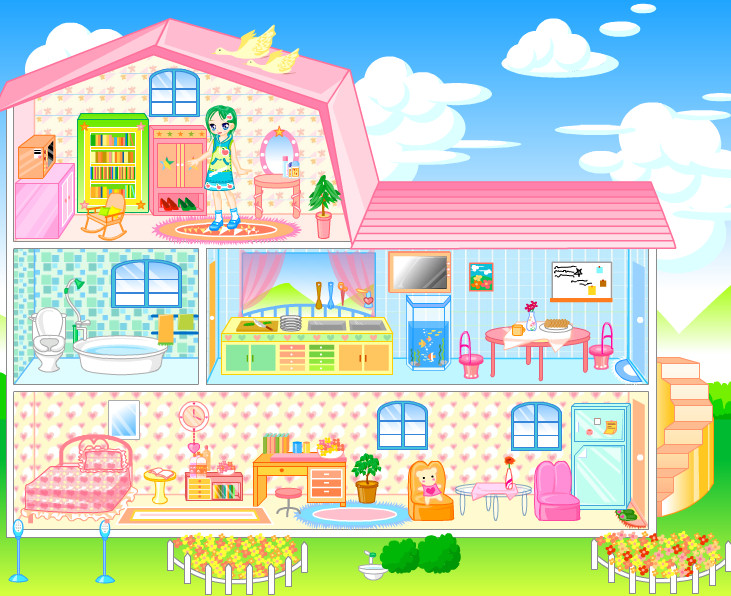casita munecas Barbie