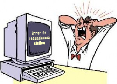 error de redundancia ciclica