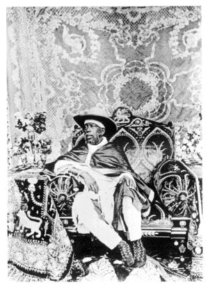 menelik II silla electrica trono