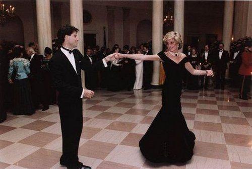 princesa Diana John Travolta