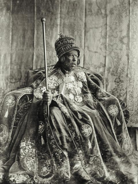 rey menelik II etiopia