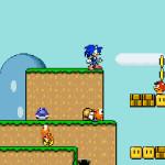 Sonic en Mario World 2