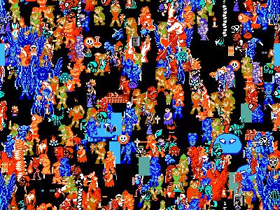 Zelda II 2 NES sprites