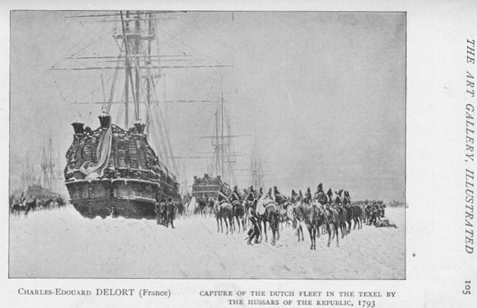 captura flota holandesa