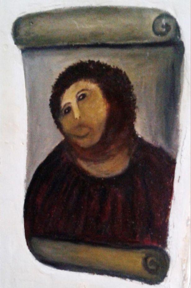 ecce homo borja cecilia