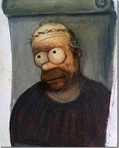 ecce homo homer simpson homero