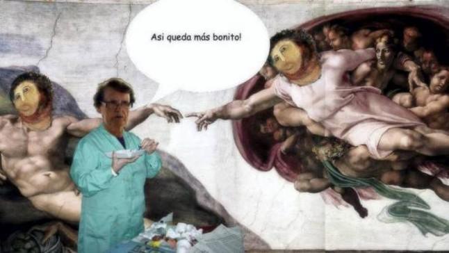 ecce homo la creacion adan miguel angel