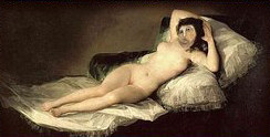 ecce homo maja desnuda goya