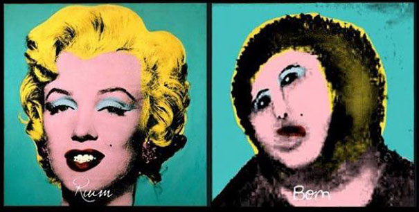 ecce homo marilyn pop art